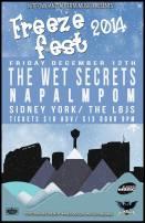 2014 - 12 12 - Freeze Fest - Wet Secrets, Napalmpom