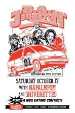 2015 - 10 17 - BA Johnston, Napalmpom, Shiverettes