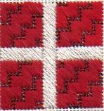 needlepoint jacquard stitch package