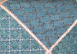 needlepoint damask on whimsy & grace needlepoint purse