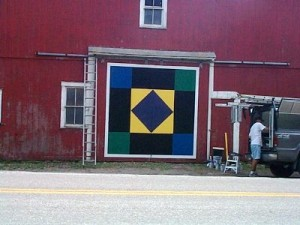 amish diamond quilt barn in ohio