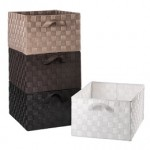 woven bins for needlepoint project storage