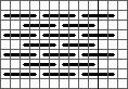 simple pattern darning stitch