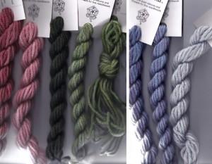 gloriana lorikeet wool thread