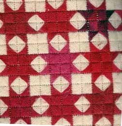 eight-point star patchwork stash-buster needlepoint designed by needlepoint expert janet m. perry