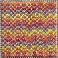 mini bargello needlepoint pattern, designed and stitched by needlepoint expert janet m. perry