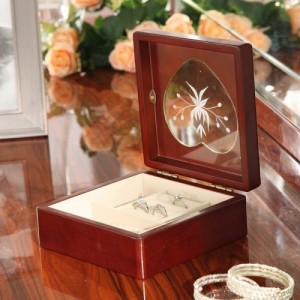 Jewelry boxes with removable glass tops are perfect for adding needlepoint & make great gifts.