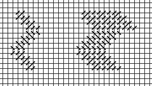 zig-zag Diagonal Mosaic