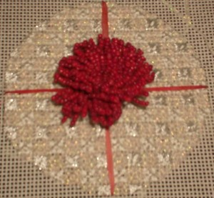 Free ornament pattern, copyright Napa Needlepoint