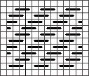 Diagonal Stripe Darning Pattern, copyright Napa Needlepoint