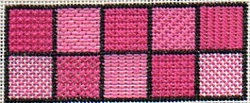 beginner's needlepoint sampler