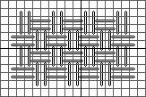 double linen stitch diagram