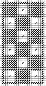 squares needlepoint damask chart