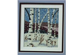 Cape Cod Needlepoint Artist in Philly Trunk Show