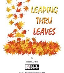 leaping thru leaves needlepoint book