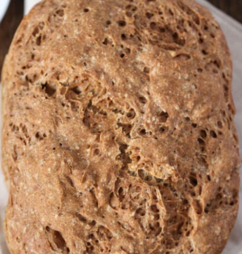 pão com farinha de berinjela