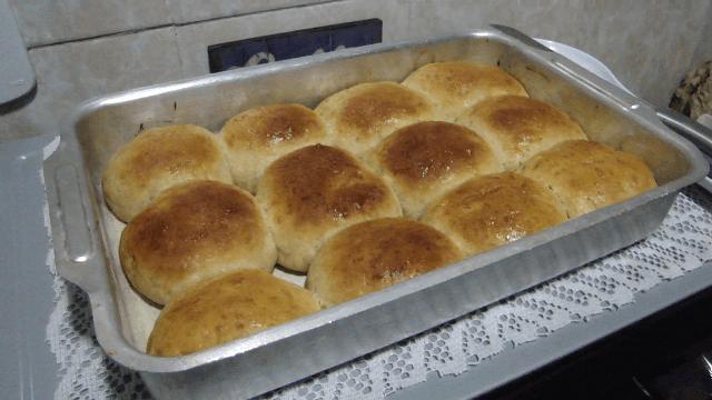 pão de batata fácil