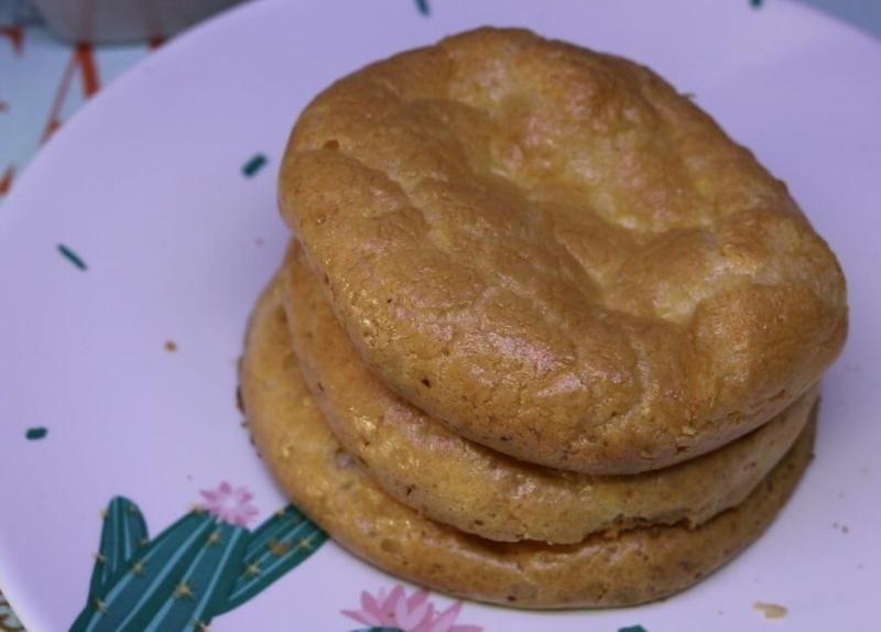 pão nuvem lowcarb