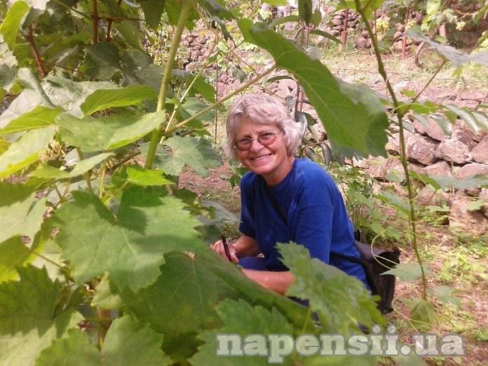 Наталия Мартишинец возделывает самый большой экзотический сад в Украине
