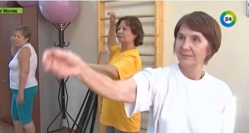 Российские пенсионеры берут уроки самообороны (ВИДЕО)