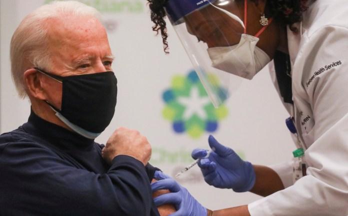 Байден вакцинация