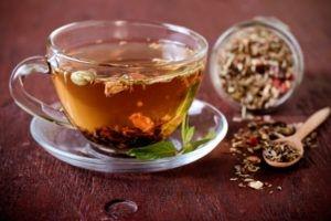 Травяной чай наладит пищеварение