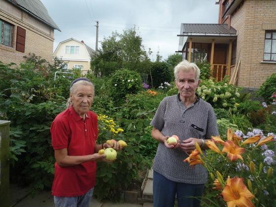 Именной сад одесских пенсионеров посвящен родным и близким