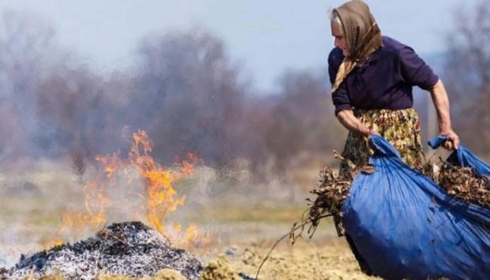 Жителям сел запретят сжигать мусор у себя во дворе