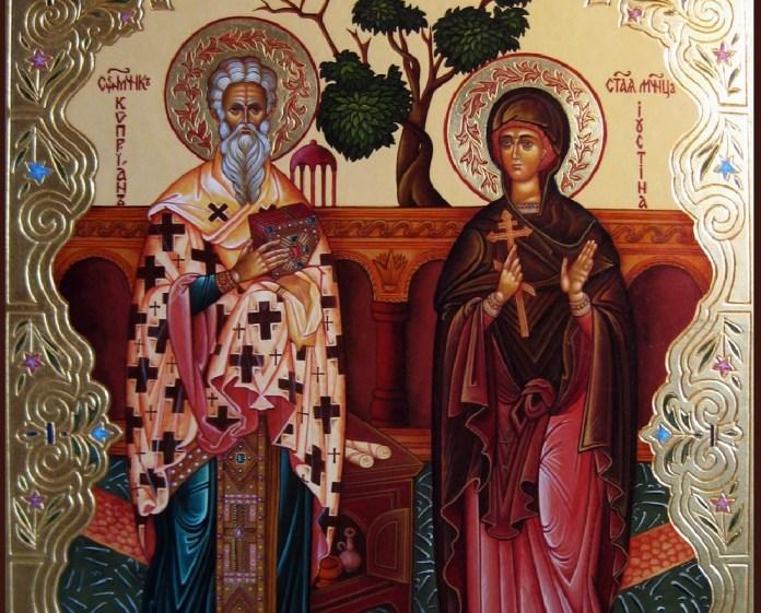 Мученики Киприан и Устинья