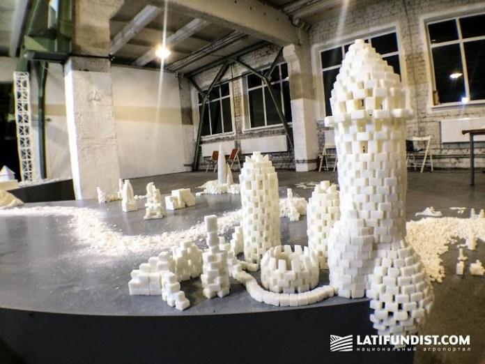 В Киеве проходит выставка сахарных скульптур (ФОТО)