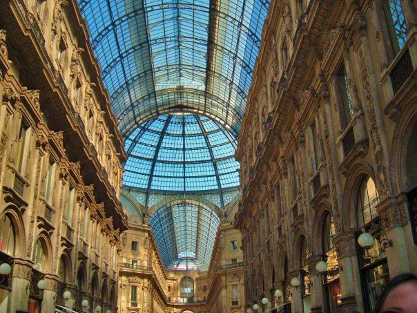 Galleria Vittorio Emanuele, one of the world's first shopping malls.