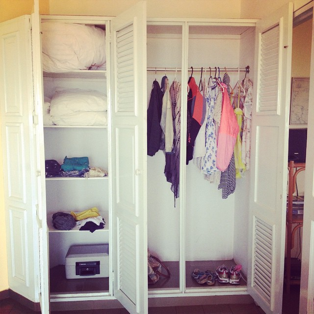#NAPerfectWorld my #closet would always look like this. Only what I need. #Cabrera #DominicanRepublic @hotellacatalina