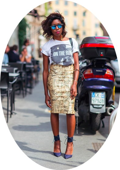 Image courtesy of Stockholm-Streetstyle.com, Milan, Italy 2014.