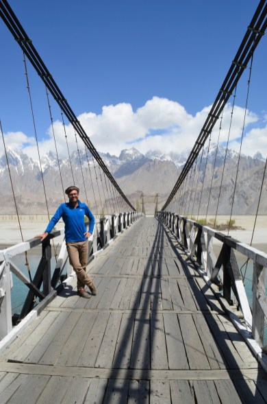 The road to Karakorem near Khaplu