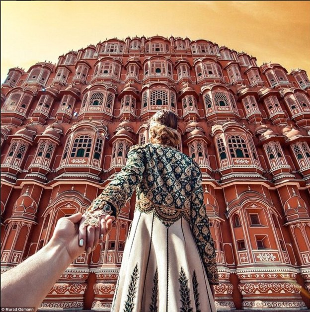 So beautiful it's almost unreal. The Hawa Mahal palace in Jaipur, India @muradOsmann
