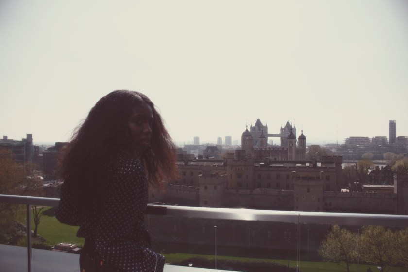 looking back from Tower of London citizenM nneya richards