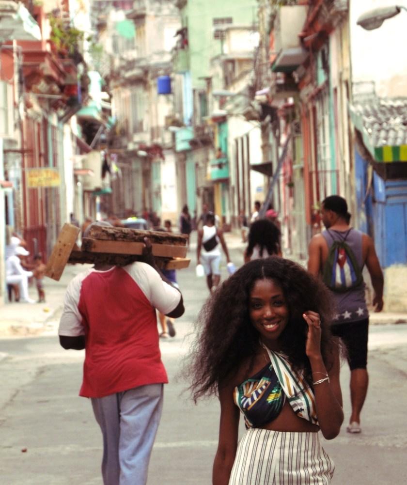 Smiling Nneya Richards Centro Habana by Alistair Morgan CLose up