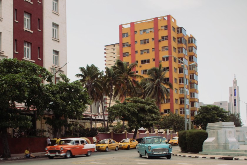 17 vedado orange taxis by nneya richards