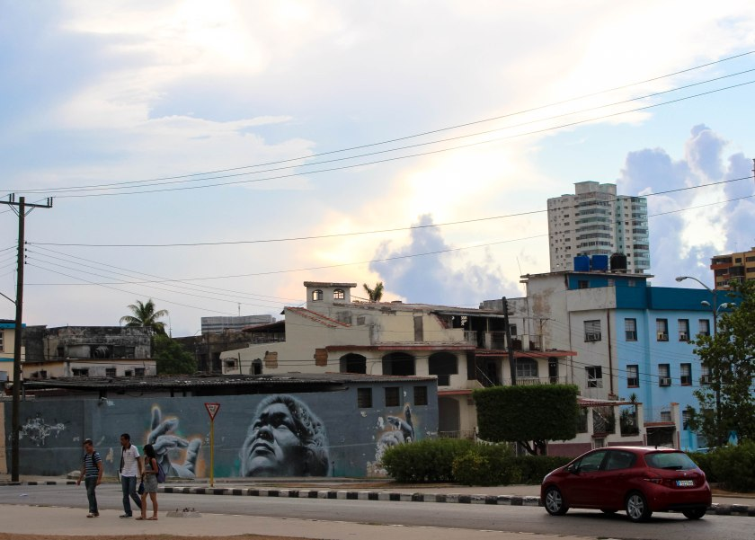 20 Looking up at the sky in vedado by Nneya Richards