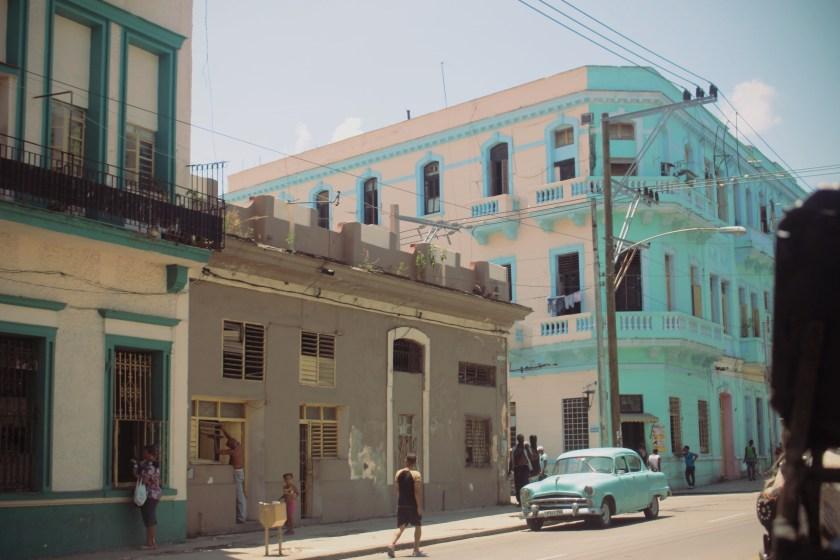 45 Centro Havana Turquoise by Nneya Richards