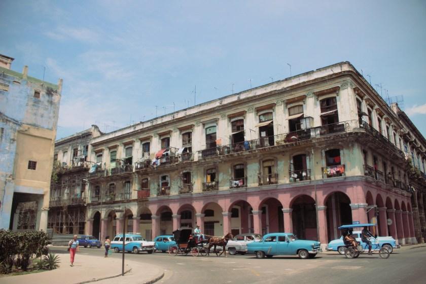 57 Centro Havana blue Car by Nneya Richards