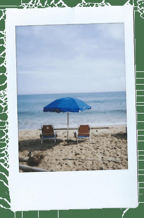 Beach Umbrella Sandy Beach by Nneya