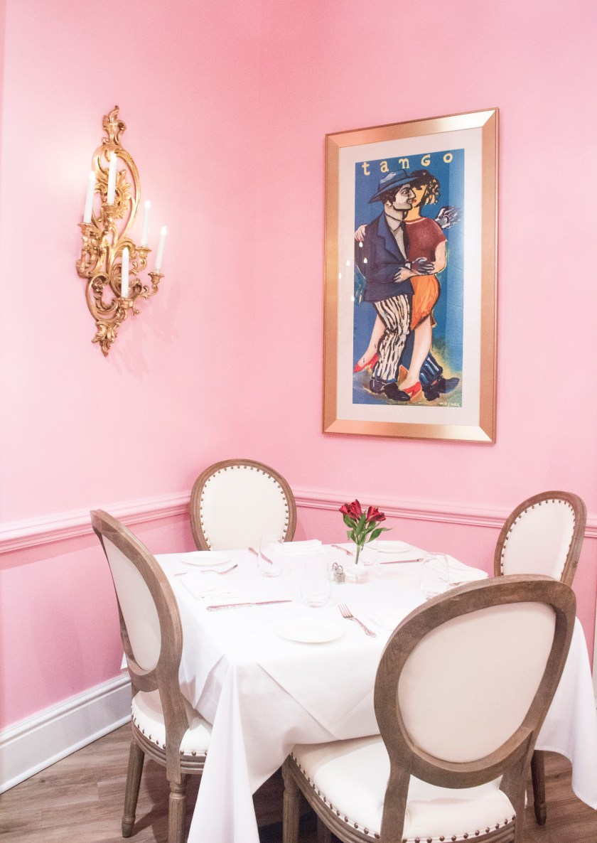 Tango Poster in Pink Room by Nneya Richards