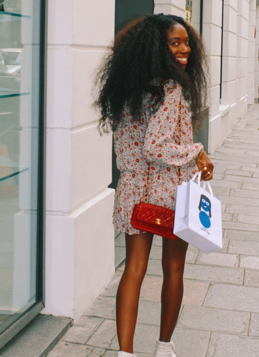 Nneya looking back with Colette Bag.JPG