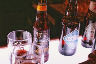 Guinness bottles by Nneya Richards
