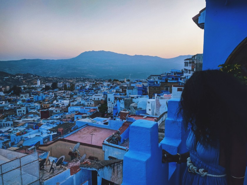 Sunset in Chefchaouen