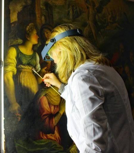 Restoration at MS Art Lab by Nneya Richards