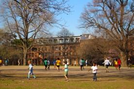 soccer games in Fort Greene Park