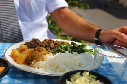 Beef dish at Anat's Kitchen in Kerem HaTeimanim