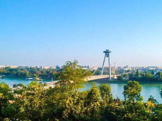 Views of the Danube